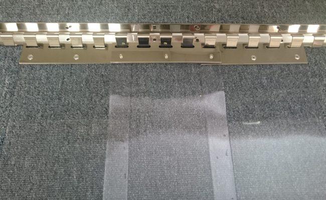 200 x 2 mm pvc Rozsdamentes szerkezet