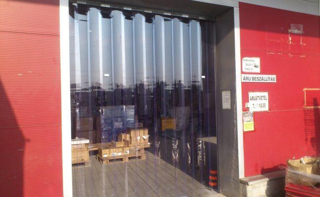 300 x 2 mm-es hőszigetelő szalagfüggöny