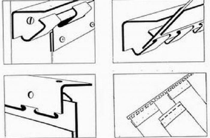 Ipari pvc szalagfüggöny felszerelés